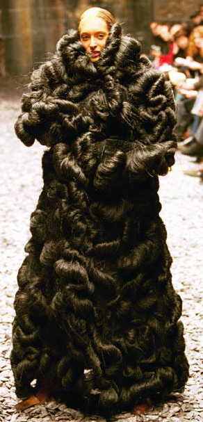 The hair coat, Eshu, Alexander McQueen