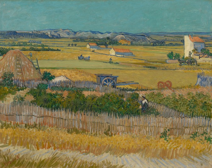 Van gogh the harvest