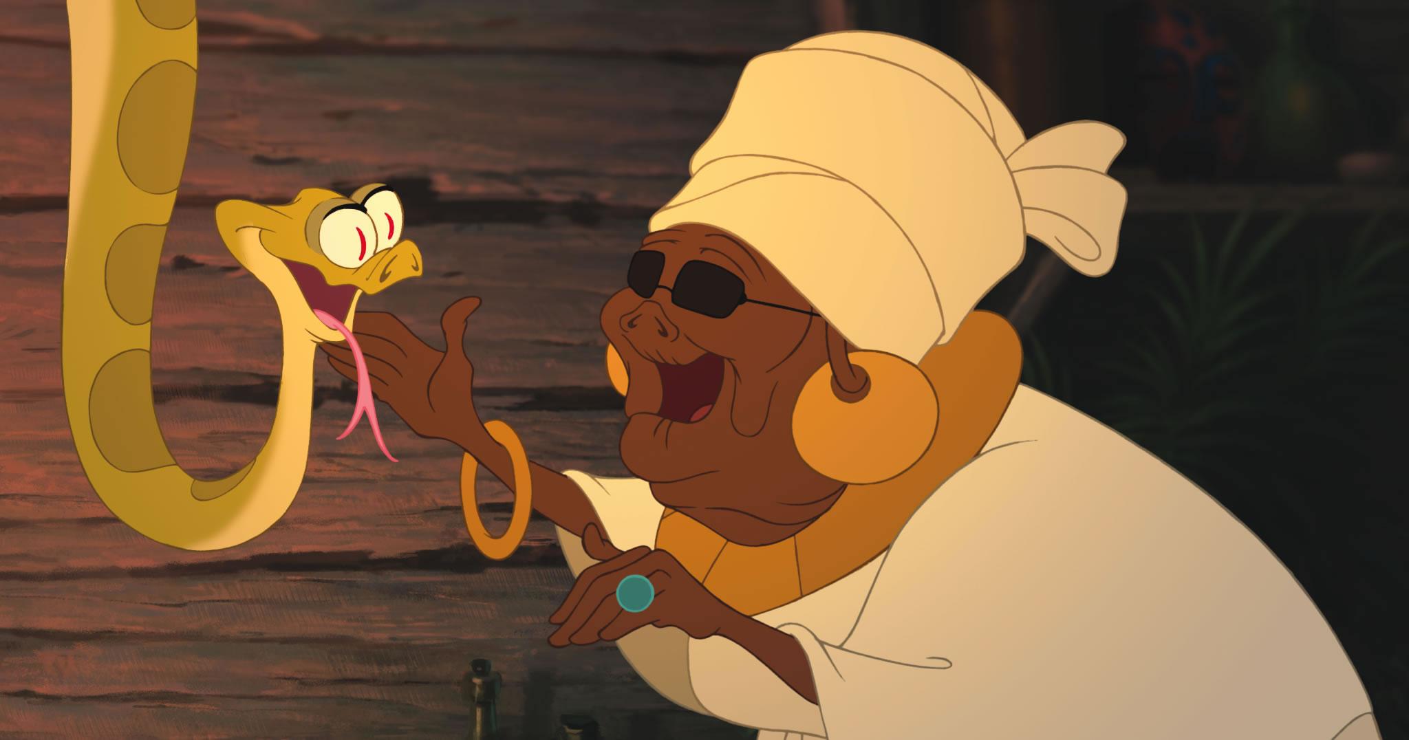 Mama Odie and Juju