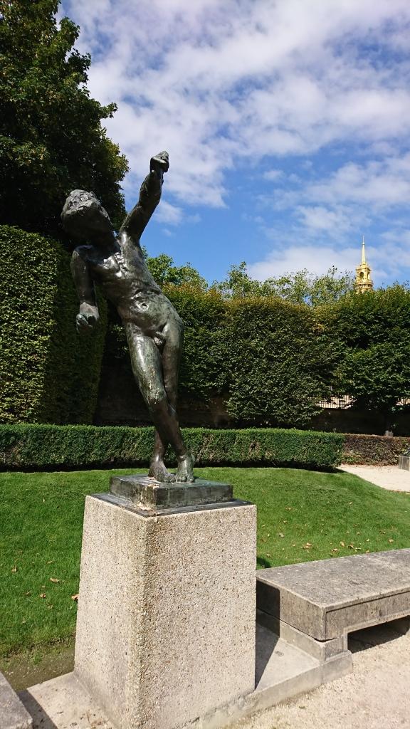 Leaning Rodin